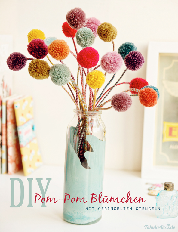 pom-pom-flower tutorial