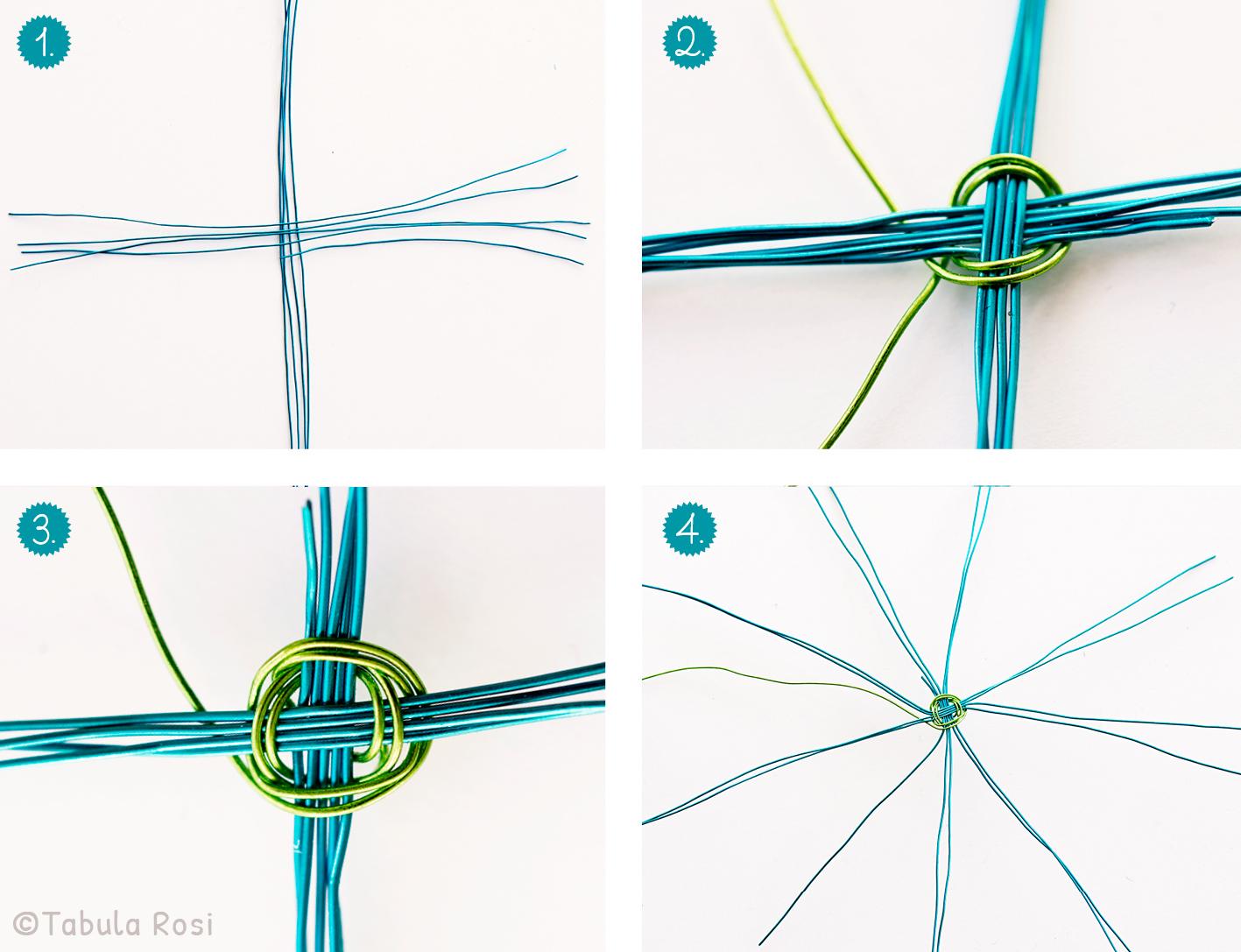 Osterkörbchen DIY Tutorial 1