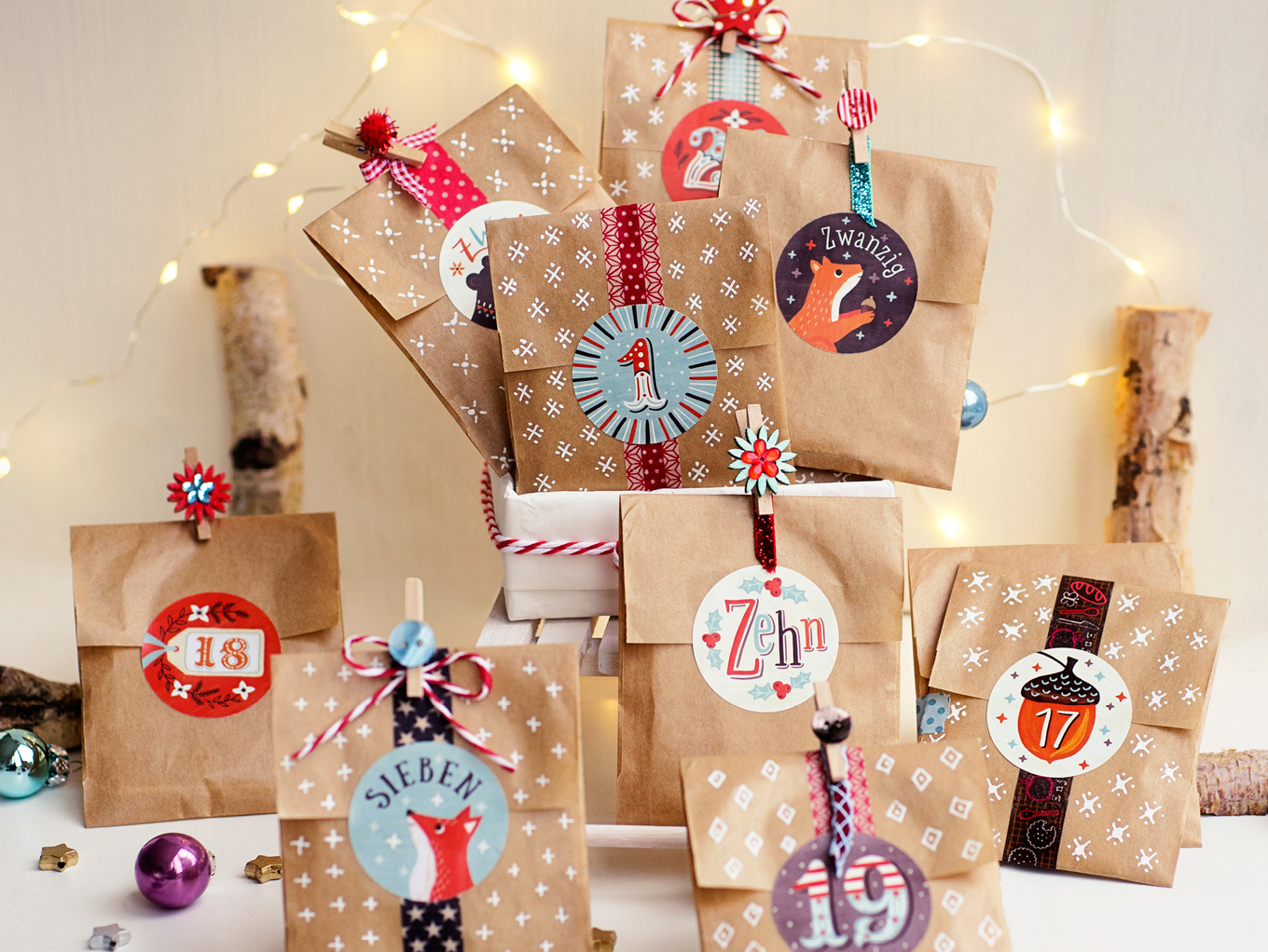 Adventskalender-DIY